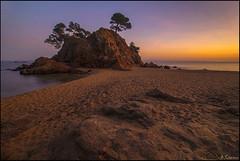 Cap Roig (antoniocamero21) Tags: color marina atardecer mar agua foto sony playa paisaje girona cap cielo catalunya pinos rocas platja daro roig