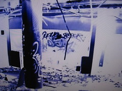 Still from Gangland (Billy Danze.) Tags: chicago graffiti factory candy pirates rip wink 42 kym afroe brachs af42