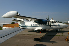 RA-1976K Let L-410UVP-E3 @ Moscow Myachkovo 15-Aug-2005 by Johan Hetebrij (Balloony Dutchman) Tags: 2005 cn airport moscow aircraft russian let 410  l410 myachkovo uvp  uubm l410uvpe3 ra1976k 892328