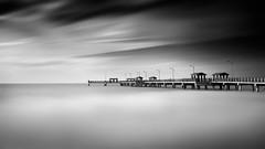 Frozen in Time (josesuro) Tags: longexposure bw beach digital landscapes florida piers fineart ftdesoto 2015 floridagulfcoast leebigstopper afsnikkor85mmf18g jaspcphotography nikond750