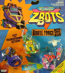 Z-Bots Series 4 Set 19 (Z-Bots collector) Tags: toys robot force space micro radical machines void brute rampage voids zbot bustr wakko galoob zbots morphbot