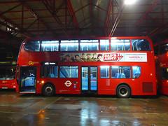 GAL E55 - LX56EUC - BX BEXLEYHEATH BUS GARAGE - FRI 22ND JAN 2016 (Bexleybus) Tags: bus london ahead kent garage go route 400 dennis e55 enviro tfl bexleyheath adl 486 bx goahead lx56euc
