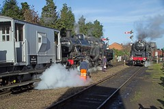 Great Central Railway 2016 Winter steam Gala. (Adrian Walker.) Tags: canon smoke steam elements tamron steamrailway locomotives gcr 92220 60d 46521 loughbourgh koodfilters