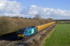 68008 Barrow upon Trent 6U76 1342 Mountsorrel - Basford Hall 03-02-16 (Wilbert B) Tags: trent barrow upon 68008 6u76