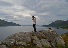 Forever Young... (Harleynik Rides Again.) Tags: camera girl scotland highlands knoydart foreveryoung soundofsleat lochhourn nikondf harleynikridesagain