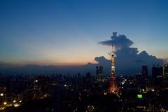 DSC_0029 (ishizima) Tags: city sky cloud tower buildings tokyo dusk tokyotower