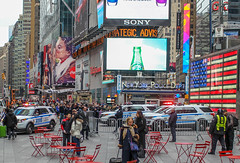 Times Square NYPD (BrianJacksonNYC) Tags: nyc square manhattan nypd times srg counterterrorism strategicresponsegroup