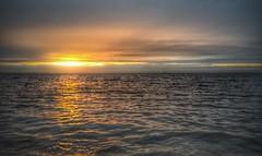 Sunrise Lough Neagh (Sasquatchpics) Tags: sun water sunrise waves nireland iphone loughneagh colondonderry