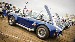 Shelby (vapi photographie) Tags: show santa bw white black ford car pier los cobra angeles nb exposition monica shelby ac supercar musclecar