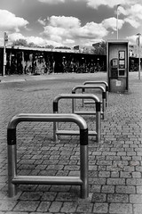 North Woolwich (Kam Sanghera) Tags: north woolwich east london bus stop telephone booth phone bw black white canon 20mm 20 mm ef f20 28 f e16 eos 5d mark iii ef20mm f28 usm
