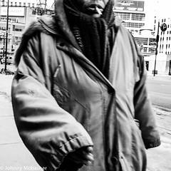street.photography.Johnny_Mobasher (Johnny Mobasher Street Photography) Tags: street bw toronto canada cigarette homeless streetphotography smoking lonely yonge wonderer johnnymobasher