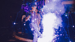 Celebrating New Year's (Ryan_DeWerth) Tags: party beer festival festive lights ecuador fireworks bokeh christmaslights celebration newyears baos