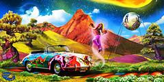 Janis Joplin by Ron Cole (ColesAircraft) Tags: cole hippy porsche rockroll joplin 1960 356 janisjoplin roncole