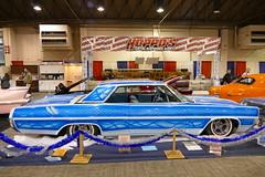 1964 Pontiac Grand Prix (bballchico) Tags: design paint grandprix pontiac custom 1964 bluemoon grandnationalroadstershow gnrs2016 waynedickey tridentsinc