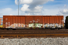 (o texano) Tags: bench graffiti texas houston trains human sws d30 wh freights crae a2m benching adikts