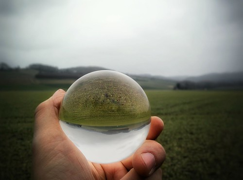 Landscape in a Glass Sphere