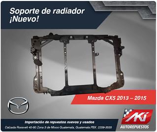 soporte de radiador de mazda cx5 2013-2015