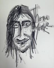 Sir Thomas Edward Yorke lo esperamos con #RadioheadEnColombia #Radiohead #thomyorke #lollapaloozaColombia (miller_black) Tags: square squareformat thomyorke radiohead gira 2016 iphoneography instagramapp