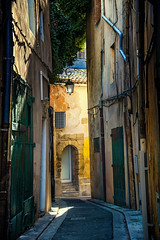 early morning alley (jody9) Tags: france alley provence earlymorningsun