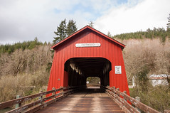 Chitwood Covered Bridge 230 (martinjones1946) Tags: bridge oregon river landscape covered coveredbridge oregoncoast yaquina lincolncounty chitwood martinjones nikond5000