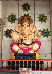 Yet another Gaea (Shrimaitreya) Tags: india ganesha god indian ganesh maharashtra hindu pune ganapati bharat waysideshrine streetshrine