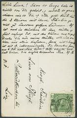 Archiv E102 Karte, Kufstein vom 25.9., 1910er (Hans-Michael Tappen) Tags: stamps karte 1910s kufstein briefmarke poststempel postcardback 1910er archivhansmichaeltappen