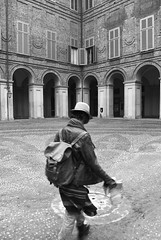 (Roybatty63) Tags: street blackandwhite bw torino blackwhite nikon streetphotography bn biancoenero palazzoreale d80
