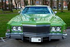 1974 CADILLAC Eldorado verte (face) (xavnco2) Tags: france classic car 1974 meeting cadillac eldorado american amiens verte picardie somme raduno anciens rassemblement vhicules lahotoie arpaa
