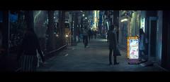Salaryman (James Yeung) Tags: japan night movie tokyo cinematic anamorphic