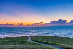 Sunrise Sky at the Headlands (Amazing Sky Photography) Tags: ocean sunrise twilight venus pacific australia nsw headlands pathway crepuscularrays morningstar wooolgoolga