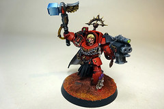 Captain Karlaen (Bronzetooth) Tags: blood 40k angels captain warhammer terminator terminators deathstorm karlaen