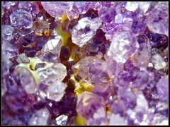 Amethysts in a Geode (cayugahull08) Tags: kansas amethyst topeka geode quartz refrigeratormagnet citrine steveclark amethystcrystals