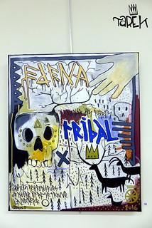 Exposition Tribal + Tarek à l'Atelier 17