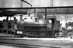 c.1957 - probably Swindon (82C) MPD. (53A Models) Tags: railroad train swindon railway steam locomotive wiltshire 1365 mpd britishrailways 1381 82c churchward 060st