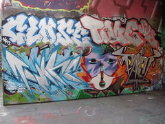 graffiti, Southbank (duncan) Tags: graffiti southbank