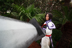 Bankotsu from Inuyasha Cosplay (firecloak) Tags: cosplay inuyasha 2016 bankotsu louisianime