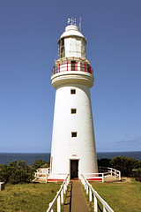 Cape Otway Lighthouse (you have to pay to get in!) (Stefan Ulrich Fischer) Tags: travel lighthouse museum architecture 35mm landscape nationalpark outdoor oz australia victoria pay coastline analogue ektachrome downunder olympusmju2