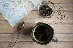 Let's travel (aadalton0415) Tags: travel cup tea mug teaspoon earlgray looseleaftea