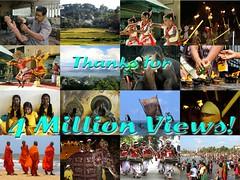 4 Million Views (Dennis Candy) Tags: heritage thanks happy view culture buddhism million srilanka ceylon serendipity hinduism gratitude pleased serendib serendip