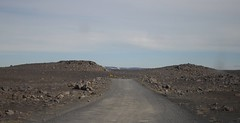 Road to the Moon (vaness89) Tags: road travel light summer moon mountain nature rock landscape island grey volcano lava iceland rocks cross natural space country dettifoss islanda