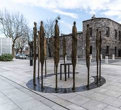 PROCLAMATION BY ROWAN GILLESPIE [ACROSS THE STREET FROM KILMAINHAM GAOL]-113743 (infomatique) Tags: sculpture irishhistory touristattraction proclamation easterrising rowangillespie williammurphy infomatique 1916rebellion zozimuz remember1916 kilmainhanmgaol