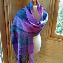 Wrap (sueingram24) Tags: wrap shawl weaving handspun handwoven