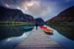 Life goes on (Blai Figueras) Tags: portrait sky panorama mountains water clouds sunrise reflections landscape agua flickr photographer horizon atmosphere paisaje amanecer cielo eden paraiso fotgrafo reflejos montaas