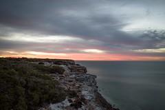Great Australian Bight (Kent Eriksson) Tags: longexposure morning clouds sunrise great australian cliffs nullarbor bight nikond610