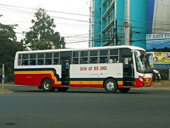 Davao ACF Bus Line 8100 (Monkey D. Luffy 2) Tags: road bus public photography photo nikon philippines transport vehicles transportation coolpix vehicle society hino pilipinas philippine isuzu enthusiasts partex philbes