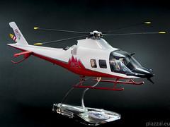 AW109 TREKKER -Orange - scala 1.32-3 (Maurizio Piazzai) Tags: model madeinitaly agusta trekker elicottero modello artigianato modellino agustawestland finmeccanica aw109