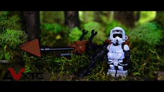 Scout Trooper (AndrewVxtc) Tags: 6 trooper star lego scout return jedi wars custom episode battlefront andrewvxtc
