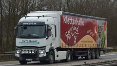 D - OVTL >Kletterhalle Sauerland< Renault Range T (BonsaiTruck) Tags: truck renault lorry camion trucks range lastwagen sauerland lorries lkw lastzug kletterhalle ovtl