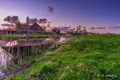 Poelboerderij (a3aanw) Tags: longexposure sunset nikon hdr d800 natuurmonumenten 1835mm poelboerderij triggertrap