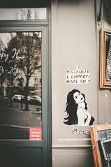 Miss Tic (Pixelicus) Tags: street streetart paris france miss rue tic misstic xiii fujix100